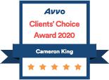 Avvo Clients' Choice Award 2020